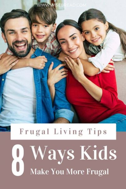 Having kids actually makes us more frugal because we have to save more of our income to pay for their present and future needs. But there are other important ways that being parent can drive you to spend less money in these ways. | #frugalliving #frugalparent #frugaltips