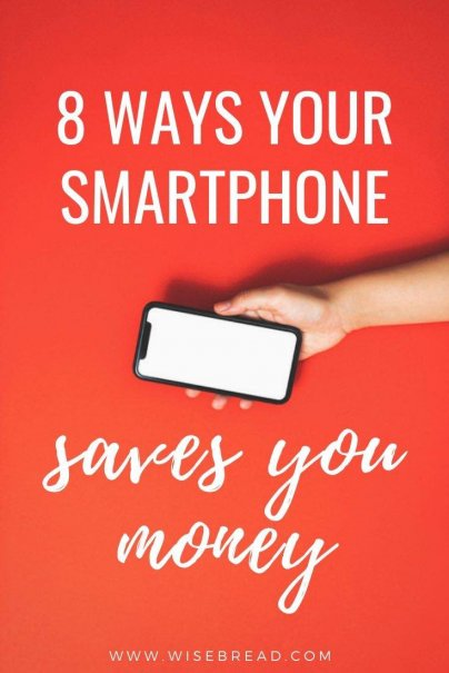 Are you starting to think it's time your pricey smartphone paid you back? Here are eight ways your smartphone can save you money. | #savemoney #moneysaving