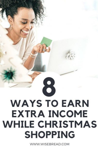 Christmas shopping can be expensive and time-consuming. Fortunately, we found a few ways for you to earn extra cash for the holidays while you do your Christmas shopping. | #extracash #sidehustle #makemoney