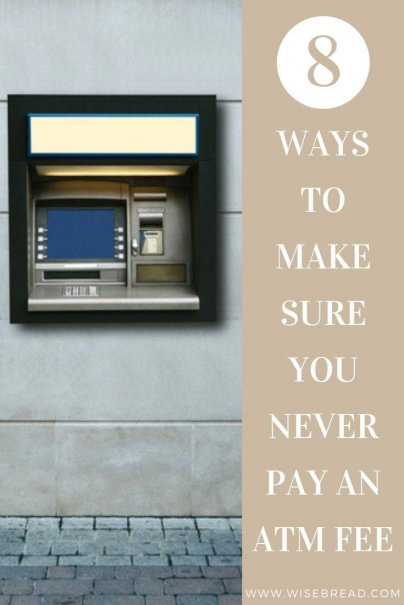 ATM fees can add up, and burn a hole in your wallet. Find out how to save money, but avoiding ATM fees with our tips and tricks. | #ATMfees #ATM #savemoney