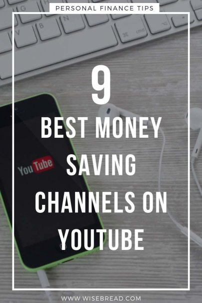 There are several money-saving gurus on YouTube, and their channels are full of moneymaking tips and advice and hacks on how to live frugally. Here are our 9 favourites that will help your save money! | #moneysaving #frugalliving #youtube