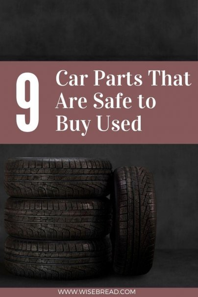 Even though used parts are less expensive than new, not all second hand car parts make sense to install. Here are the ones that are worth buying to save money. | #finances #personalfinanes #usedcar