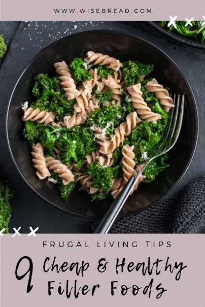 Want some cheap, budget friendly filler foods to increase the nutritional value of your breakfast, lunch, dinner or snack? We've got 9 healthy additions that can stretch the number of servings without overdoing the calorie count! For easy recipe ideas and tips that will save you money check out our guide!   #frugalfood #healthyfoods #cheaprecipes