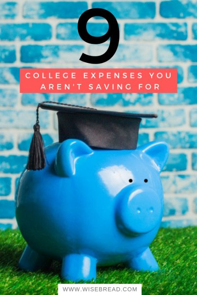 9 College Expenses You Aren't Saving For