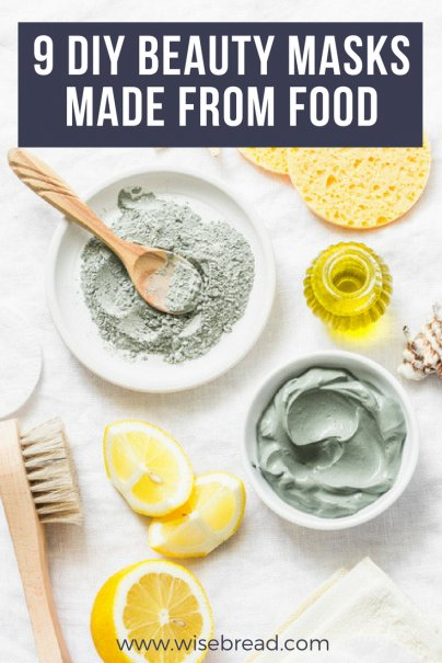 9 DIY Beauty Masks Made From Food