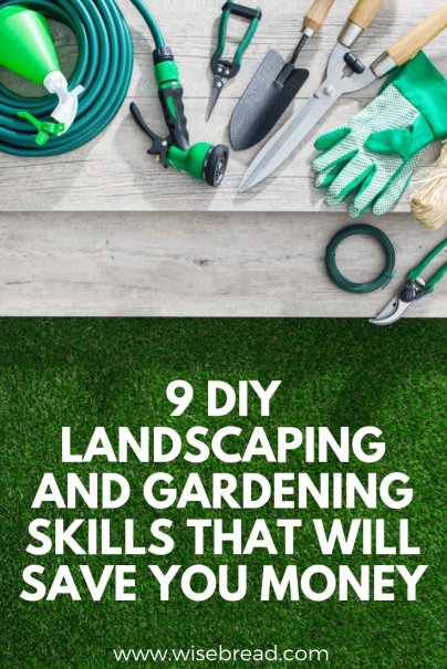 9 DIY Landscaping and Gardening Skills That Will Save You Money