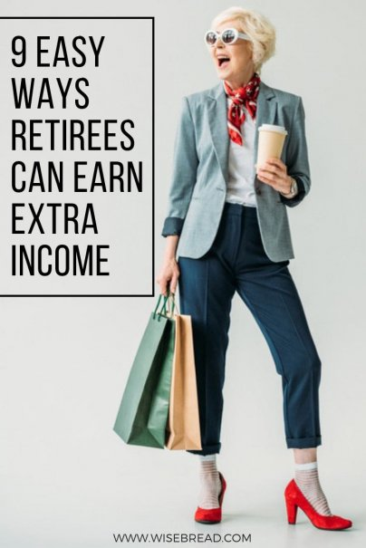 9 Easy Ways Retirees Can Earn Extra Income