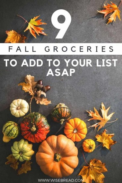 Want to find seasonal produce for fall? It's a great way to cook hearty and healthy meals. Here are the tips to help you add fall groceries to the list. | #frugalfood #seasonal #fall
