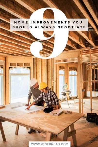 9 Home Improvements You Should Always Negotiate