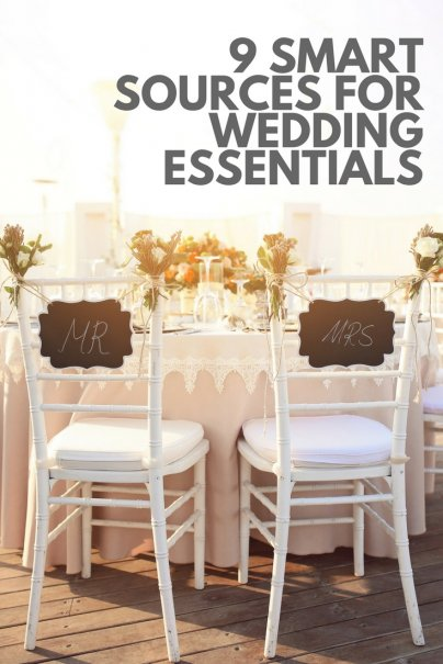 9 Smart Sources for Wedding Essentials