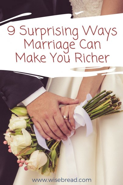 9 Surprising Ways Marriage Can Make You Richer
