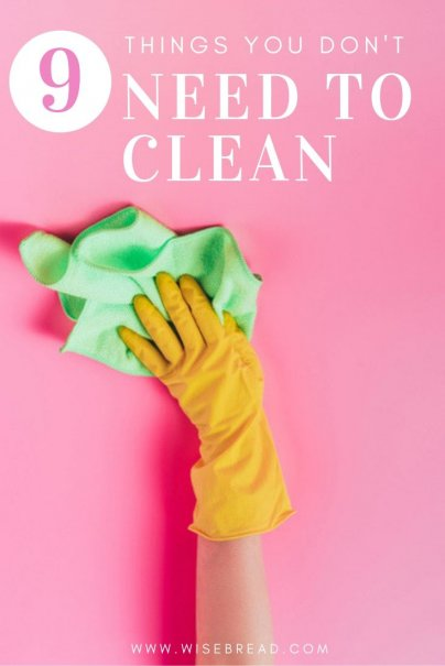Spring cleaning time? Well we've got nine cleaning chores that you can usually skip without major repercussions — and some that you are not supposed to do at all. | #cleaning #cleaningtips #lifehacks