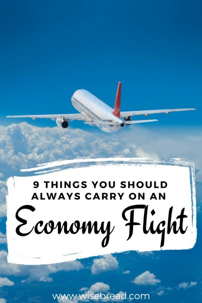 9 Things You Should Always Carry on an Economy Flight