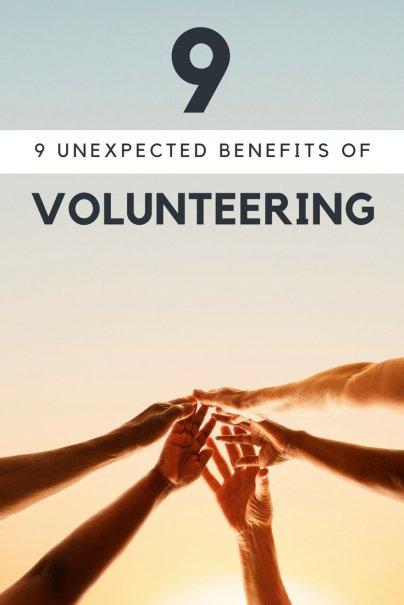 9 Unexpected Benefits of Volunteering