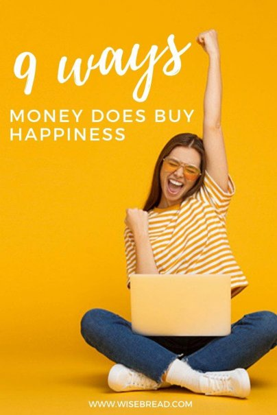 Can money buy happiness? Here's a look at some of the research indicating that money does indeed play a role in making people happier. | #happiness #moneymatters #personalfinance