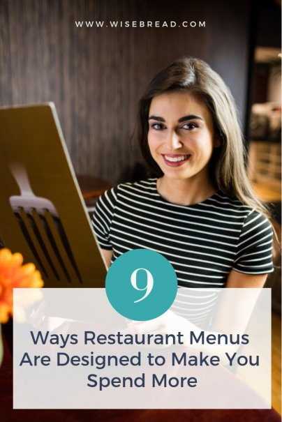 9 Ways Restaurant Menus Are Designed to Make You Spend More