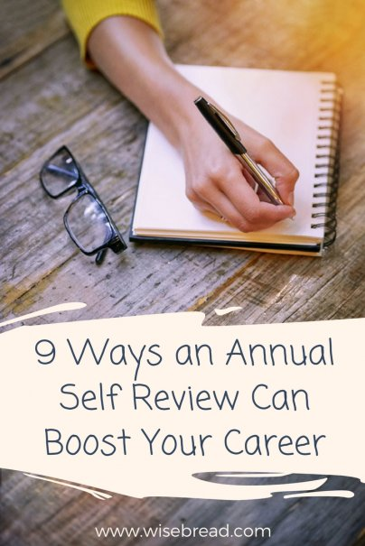 9 Ways an Annual Self Review Can Boost Your Career