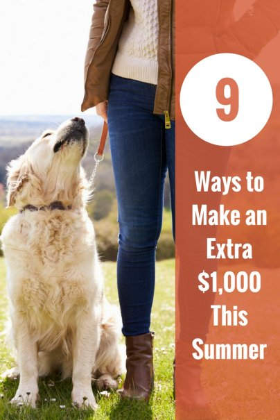 9 Ways to Make an Extra $1,000 This Summer