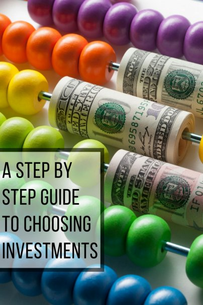 A Step-by-Step Guide to Choosing Investments