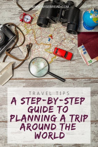 A Step-by-Step Guide to Planning a Trip Around the World
