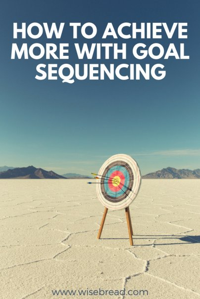 Achieve More With Goal Sequencing