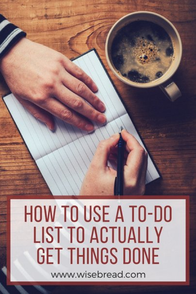 Actually Get Things Done: Creating a Reasonable To-Do List