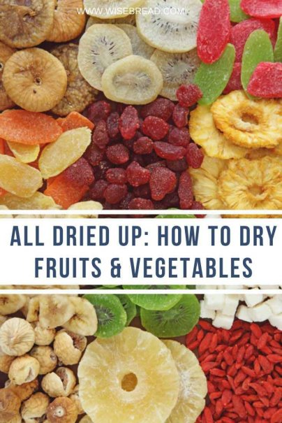 Want to be a little more frugal in the kitchen? Here are nine simple steps for drying fruits and veggies at home. | #frugalfood #thriftyfood #kitchenhacks
