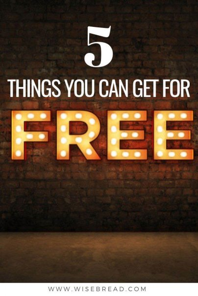 Looking to cut back on your spending and reduce your living costs?We've got some creative ways you can score free stuff, from free meals for kids, to entertainment and more, these are the things that you can get for free so you can save money! | #freestuff #coupons #savemoney