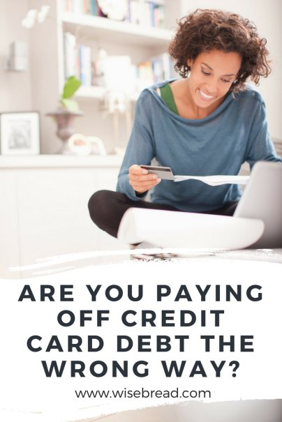 Are You Paying Off Credit Card Debt the Wrong Way?