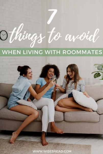 Living with room mates? These are the things to avoid if you want to keep the peace in the house. | #roommates #flatmates #lifehacks