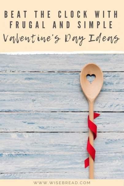 Want a frugal and simple way to show your love to your special partner on valentines day? We've got the tips and ideas, from DIY to bought gifts, these are ways you can have an unforgettable Valentines Day without breaking the budget! Save money on this special day with our cheap but great ideas! | #frugalliving #valentinesday #cheapvalentinesday
