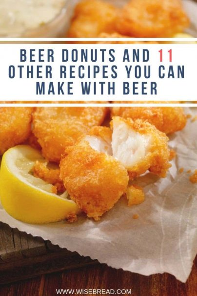 There are some great recipes you can make from beer. From beer bread, to beer dip, beer battered fish and more, here are 12 uniquely delicious recipes you can make with beer. | #beer #recipes #thriftyfood