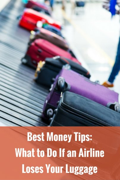 Best Money Tips: What to Do If an Airline Loses Your Luggage