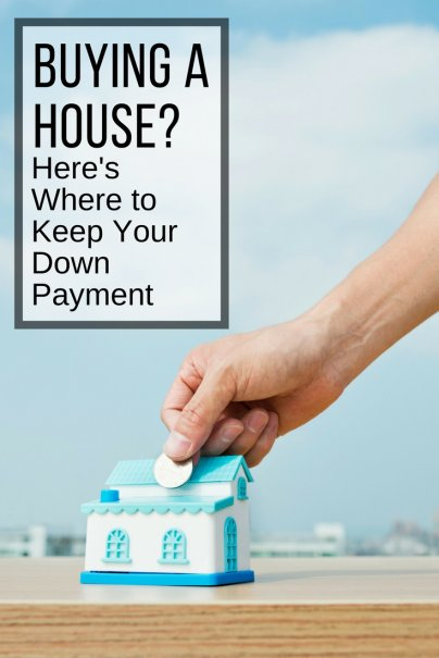 Here's Where to Keep Your Down Payment