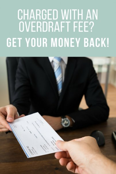 Charged With an Overdraft Fee? Get Your Money Back!