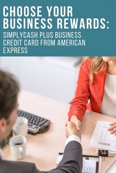 Choose Your Business Rewards: SimplyCash Plus Business Credit Card from American Express