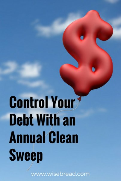 Control Your Debt With an Annual Clean Sweep