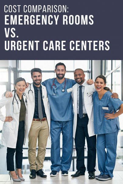 Cost Comparison: Emergency Rooms vs. Urgent Care Centers
