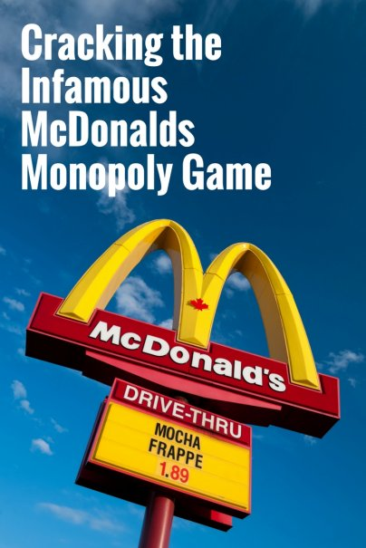 Cracking the Infamous McDonalds Monopoly Game