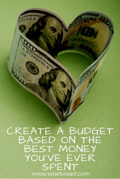 Create a Budget Based on the Best Money You've Ever Spent