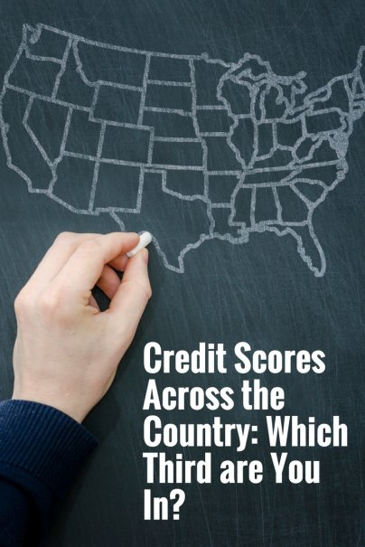 Credit Scores Across the Country: Which Third are You In?