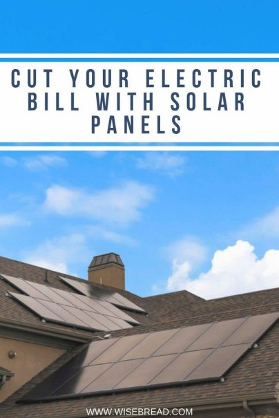 Thinking about reducing your carbon footprint by going solar? Besides helping the environment, find out how installing solar panels can dramatically reduce your electric bills. | #solarpanels #sustainableliving #solar