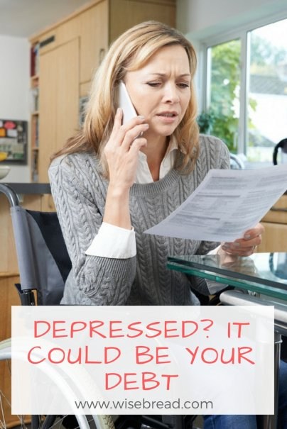 Depressed? It Could Be Your Debt