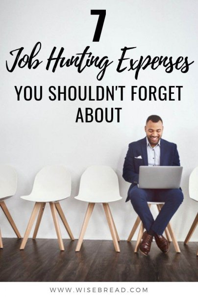 Thinking about changing careers or jobs? It can cost you more money than you think, from transportation costs, to changing your work wardrobe and more, here's how to prepare your budget for the job hunt. | #careertips #jobsearch #jobtips