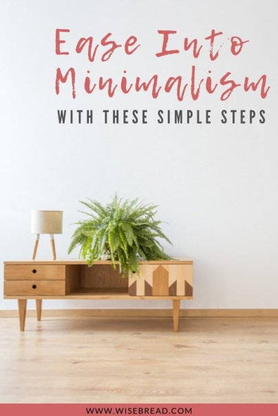 With spring cleaning season starting, why not get some inspiration for becoming minimalist! We've got tips and ideas for minimalism, so get ready to organise and declutter into a more simple living lifestyle! #springcleaning #declutter #minimalism
