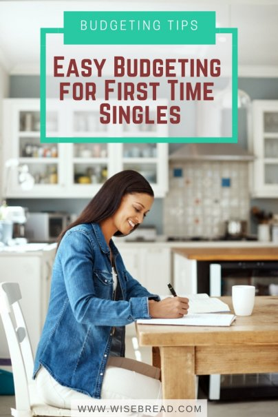 Easy Budgeting for First Time Singles