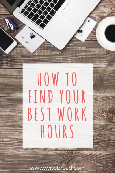Finding Your Best Work Hours