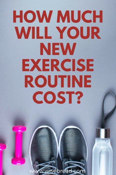 Fitness Resolutions: How Much Will Your New Exercise Routine Cost?