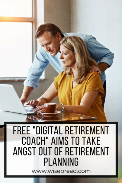 "Free ""Digital Retirement Coach"" Aims to Take Angst Out of Retirement Planning"