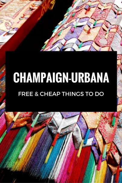 Free and cheap things to do in Champaign-Urbana